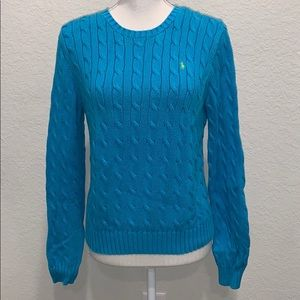 Aqua Ralph Lauren Crewneck Sweater